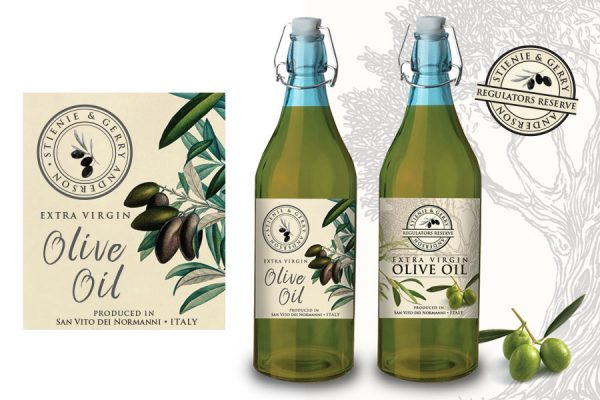 REGISTRAAR'S RESERVE - Olive Oil Label Design