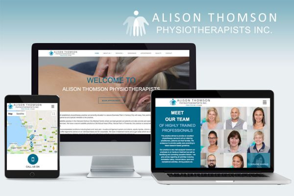 ALISON THOMSON PHYSIOTHERAPISTS INC. - Website Design