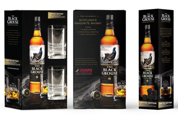BLACK GROUSE - Packaging Design - Gift in Box