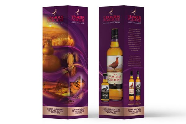 FAMOUS GROUSE - Packaging Design - Gift in Box