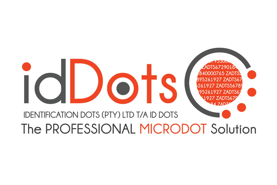 IdDots (Identification Dots) Professional Microdot Solutions - Logo Design