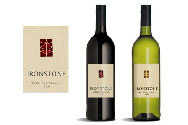 IRON STONE - Wine Label Design
