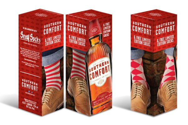 SOUTHERN COMFORT - Packaging Design - Gift in Box