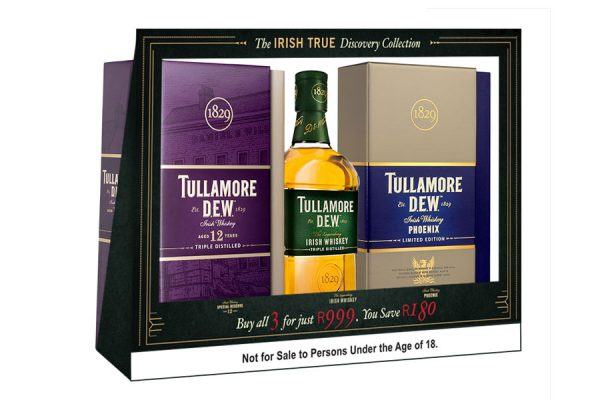 TULLAMORE D.E.W - Packaging Design - Shelf Frame